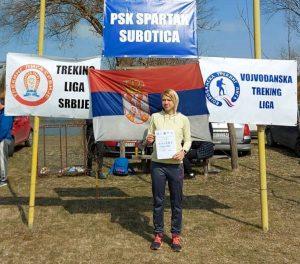 ПОБЕДА ТИЈАНЕ КАБИЋ НА ОТВАРАЊУ СЕЗОНЕ ТРЕКИНГ ЛИГЕ СРБИЈЕ