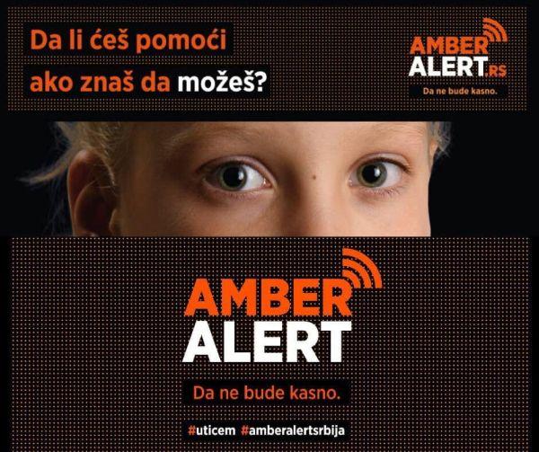 """НАРОДНА ИНИЦИЈАТИВА ЗА УВОЂЕЊЕ """"АМБЕР АЛЕРТ"""" СИСТЕМА – БЕЗБЕДНОСТ ДЕЦЕ ЈЕ ОДГОВОРНОСТ СВИХ НАС!"""